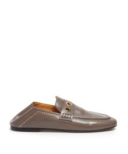 Isabel Marant | Fosten Collapsible-Heel Leather Loafers