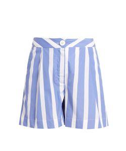 Thierry Colson | Mach Striped Cotton-Poplin Shorts
