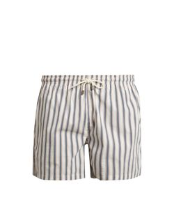 Solid & Striped | The Classic Chesapeake Stripe-Print Swim Shorts