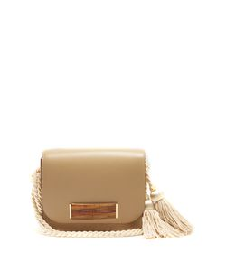 HILLIER BARTLEY | Barrette Leather And Suede Shoulder Bag