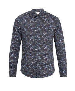 Paul Smith | Sun-Print Single-Cuff Cotton Shirt