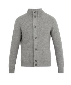 Thom Sweeney | High-Neck Cashmere Cardigan