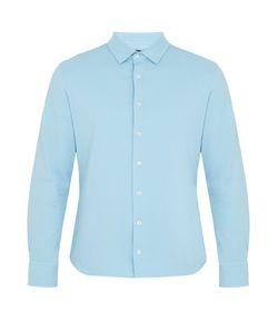 FRESCOBOL CARIOCA | Long-Sleeved Cotton-Piqué Polo Shirt