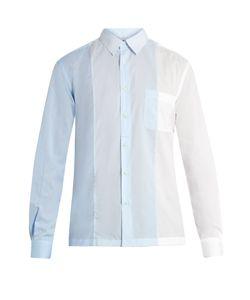 HELBERS | Colour-Block Cotton Shirt
