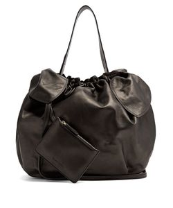 Simone Rocha | Double-Knot Leather Shoulder Bag