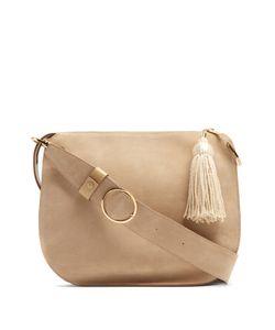 HILLIER BARTLEY | Tassel Suede And Leather Shoulder Bag