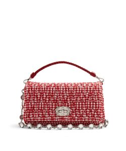 Miu Miu | Quilted Gingham Shoulder Bag
