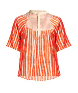 ACE & JIG | Bronte Striped Jacquard Top