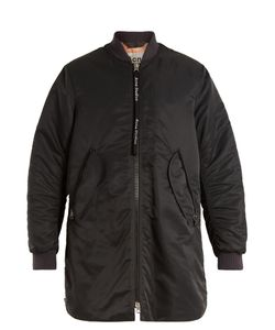 Acne | Coos Long-Line Padded Bomber Jacket