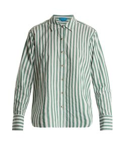 Mih Jeans | Striped Cotton Shirt
