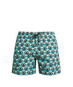 LE SIRENUSE, POSITANO | Siren-Print Swim Shorts
