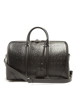 Givenchy | Logo And Star-Debossed Leather Holdall