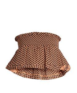 CECILIE COPENHAGEN | Bandeau Scarf-Jacquard Cotton Cropped Top
