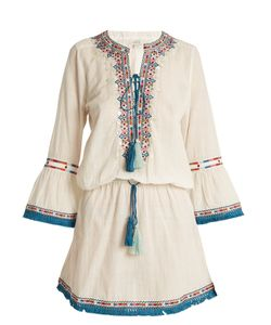 TALITHA | Ria Zoya-Embroidered Cotton Dress