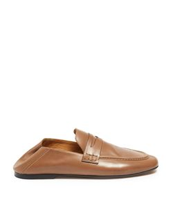 Isabel Marant | Étoile Fanzel Collapsible-Heel Leather Loafers