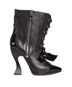 Loewe | Curved-Heel Lace-Up Boots