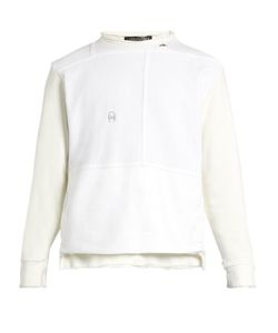 LONGJOURNEY   Nash Distressed-Edge Cotton Sweatshirt