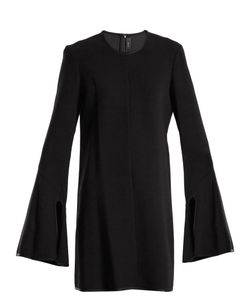 Ellery | Preacher Long-Sleeved Crepe Dress