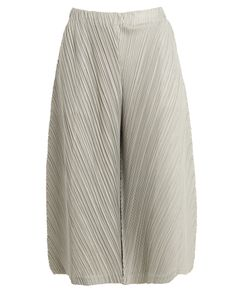 PLEATS PLEASE BY ISSEY MIYAKE | Wide-Leg Pleated Culottes