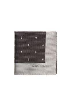 Alexander McQueen | Skull And Dot-Jacquard Silk Pocket Square