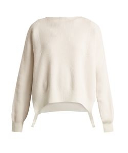 Helmut Lang | Side-Loop Cotton Wool And Cashmere-Blend Sweater