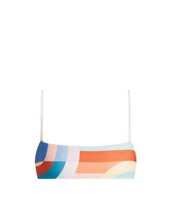 Mara Hoffman | Meridan-Print Cropped Cami Bikini Top