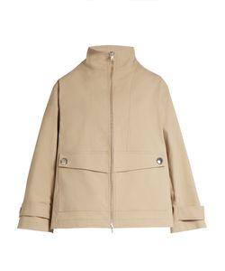 Adam Lippes | Stand-Collar Stretch-Cotton Jacket