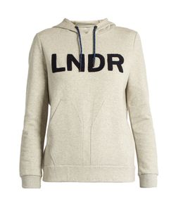 LNDR | College Cotton-Blend Performance Hooded Sweatshirt