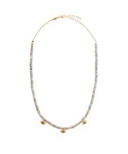 JACQUIE AICHE | Diamond Labradorite Necklace