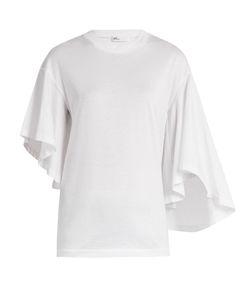 Toga | Fla-Sleeve Cotton-Jersey T-Shirt