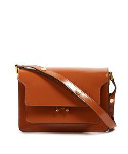 Marni | Trunk Medium Leather Shoulder Bag