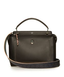 Fendi | Dotcom Leather And Water-Snake Bag