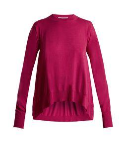 Stella Mccartney | Side-Slit Wool Sweater