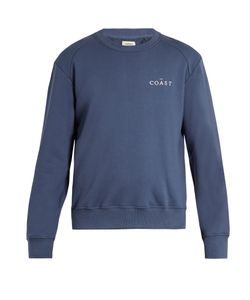 Everest Isles | Embroide Cotton-Jersey Sweatshirt