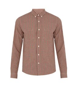 Ami | Checked Cotton Shirt