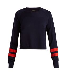 LNDR | Ace Contrast-Stripe Wool-Blend Cropped Sweater