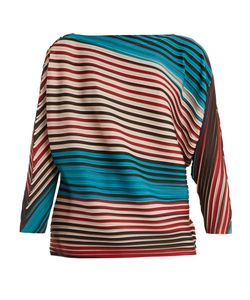 Issey Miyake | Striped Pleated Top