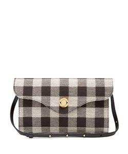MANSUR GAVRIEL | Mini Baguette Gingham Shoulder Bag