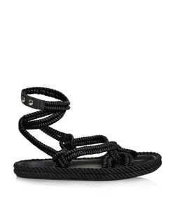 Isabel Marant | Lou Wraparound Rope Sandals