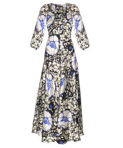 Duro Olowu | Zanzibar Flower Print Silk-Satin Dress