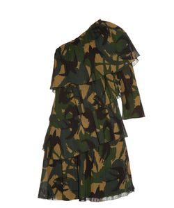 Sonia Rykiel | Swallow Camouflage-Print One-Shoulder Dress