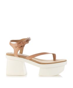 Stella Mccartney | Altea Faux-Leather Block-Heel Platform Sandals