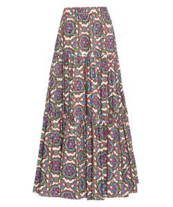 LA DOUBLEJ EDITIONS | The Kaleidoscope-Print Big Skirt
