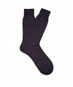 PANTHERELLA | Chalcot Chevron-Knit Cotton-Blend Socks