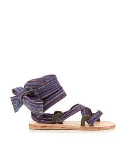 BROTHER VELLIES | Zanzibar Bovine Ankle-Wrap Sandals
