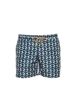 THORSUN | Blocks-Print Swim Shorts