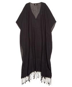 SU | Jimba Striped V-Neck Cotton Kaftan