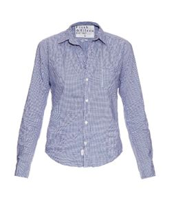 FRANK & EILEEN | Barry Micro-Check Cotton Shirt