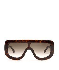 CÉLINE SUNGLASSES | Acetate Mask Sunglasses