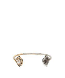 ELIE TOP | Diamond Pearl Silver Toi Moi Cuff